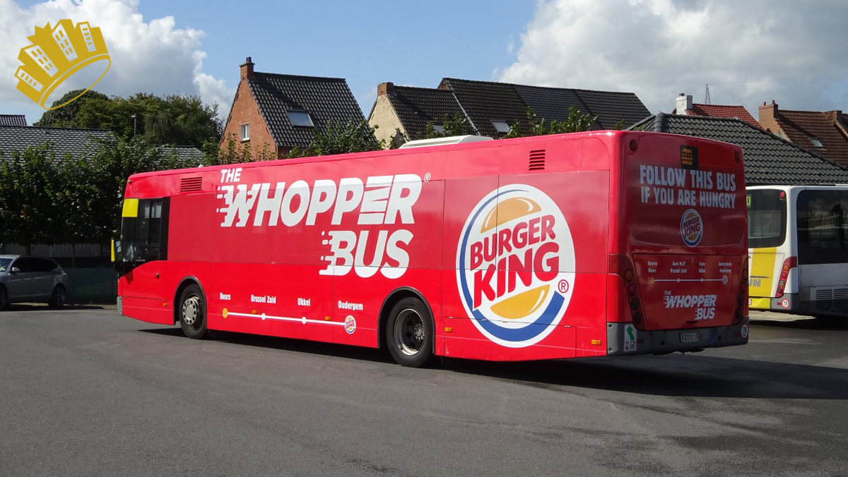 Burger King – the Whopper Bus