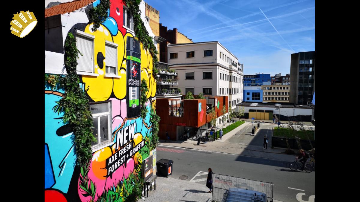 Axe Collision – The Murals