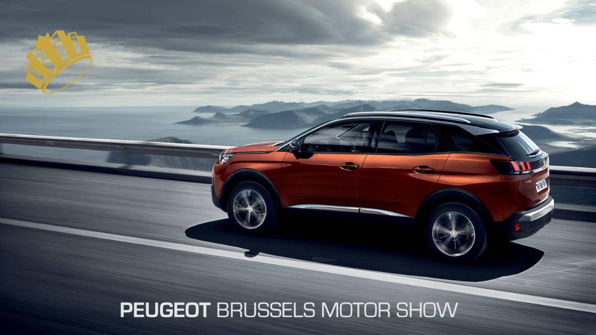 Peugeot @ Brussels Motor Show '18